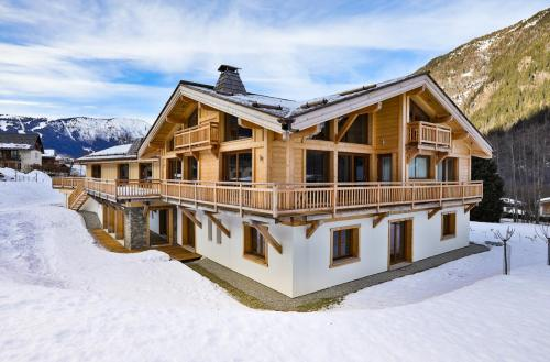 Chalet de luxe à louer CHAMONIX MONT BLANC, 1 m², 7 Chambres