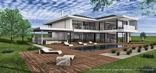 Luxus-Haus zu verkaufen Dully, 386 m²