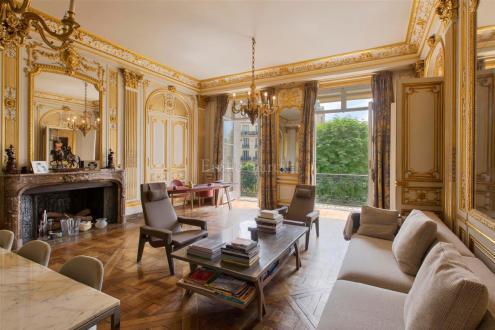 Квартира класса люкс на продажу  Париж 16ый, 200 м², 2 Спальни, 3800000€