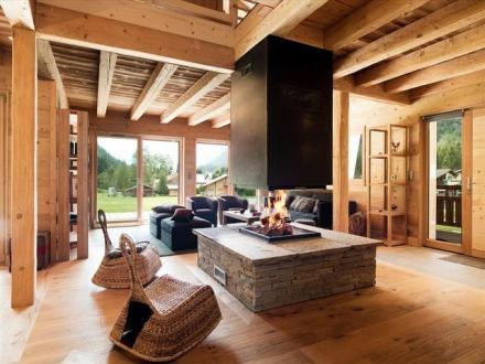 Chalet de luxe à louer CHAMONIX MONT BLANC, 200 m², 5 Chambres,