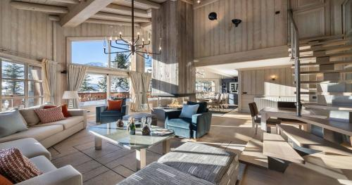 Шале класса люкс в аренду Куршевель, 270 м², 5 Спальни,