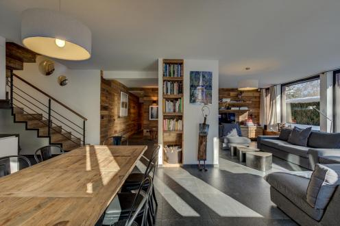 Luxus-Wohnung zu vermieten CHAMONIX MONT BLANC, 130 m², 3 Schlafzimmer,