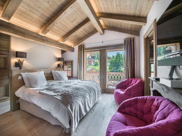 Шале класса люкс в аренду Межев, 280 м², 5 Спальни,