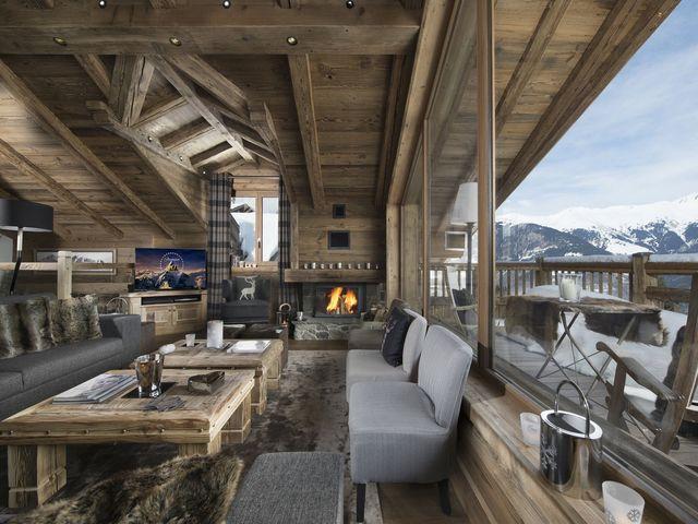 Chalet de luxe à louer COURCHEVEL, 220 m², 5 Chambres,