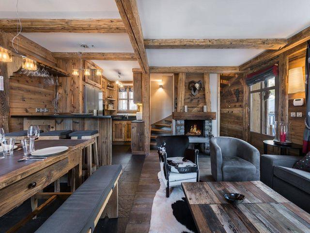 Chalet de luxe à louer COURCHEVEL, 125 m², 3 Chambres,