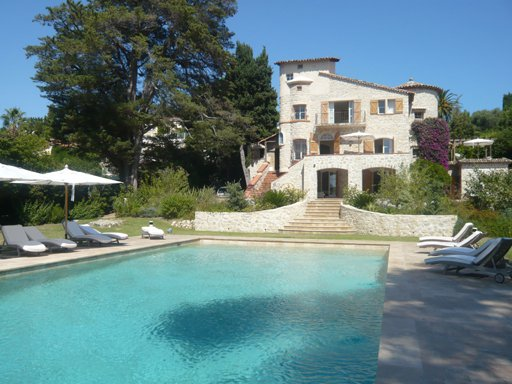 Luxury House for rent CAP D'ANTIBES, 380 m², 6 Bedrooms,