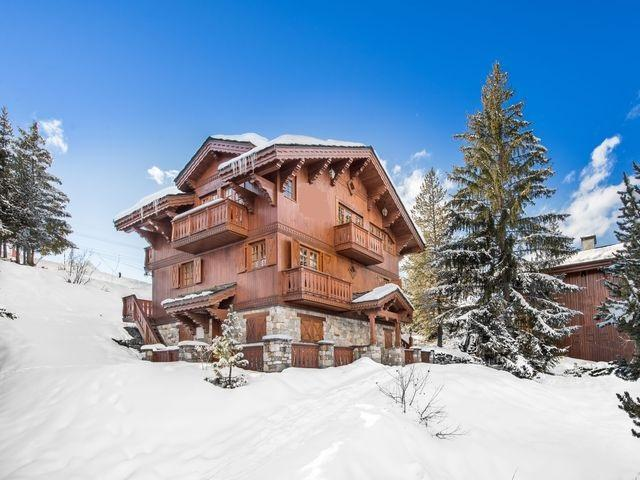 Chalet de luxe en location COURCHEVEL, 210 m², 5 Chambres