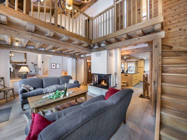 Chalet de luxe à louer COURCHEVEL, 360 m², 6 Chambres,