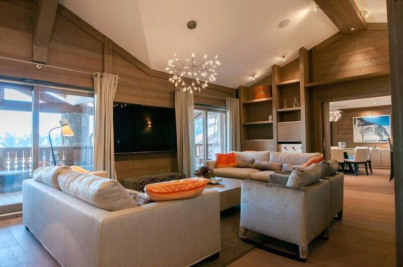 Appartamento di lusso in affito COURCHEVEL, 140 m², 4 Camere