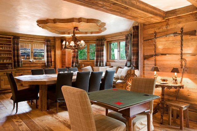 Casale di lusso in affito COURCHEVEL, 350 m², 7 Camere,