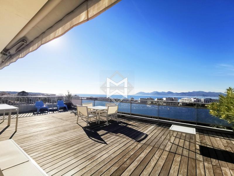 Luxus-Wohnung zu vermieten CANNES, 116 m², 2 Schlafzimmer