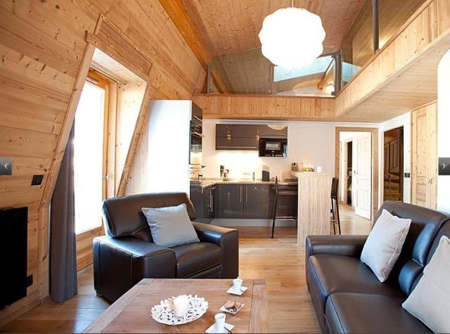 Luxus-Wohnung zu vermieten CHAMONIX MONT BLANC, 90 m², 2 Schlafzimmer,