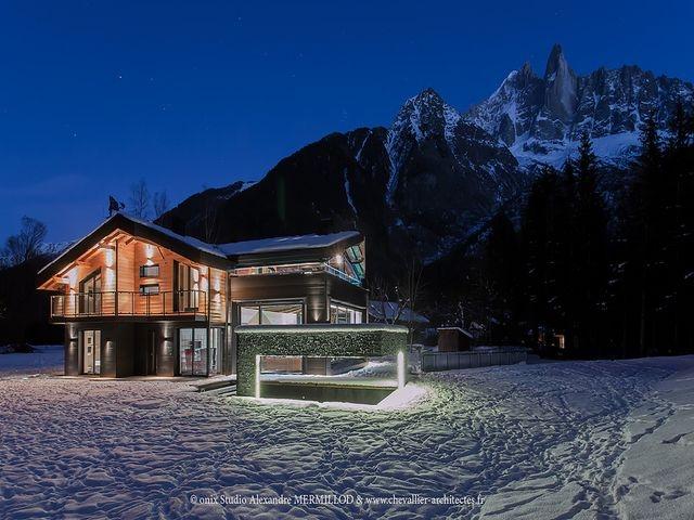 Maison de luxe à louer CHAMONIX MONT BLANC, 535 m², 5 Chambres