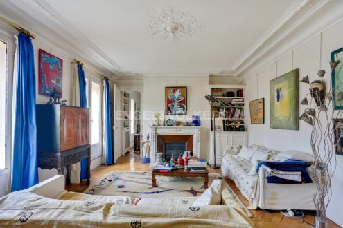 Luxus-Wohnung zu verkaufen PARIS 17E, 178 m², 4 Schlafzimmer, 2600000€
