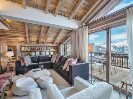 Luxus-Chalet zu vermieten COURCHEVEL, 500 m², 4 Schlafzimmer,