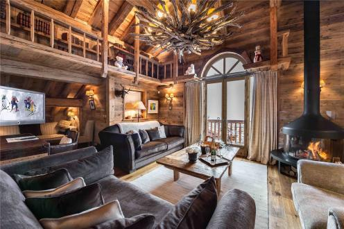Casa di lusso in affito COURCHEVEL, 400 m², 6 Camere,