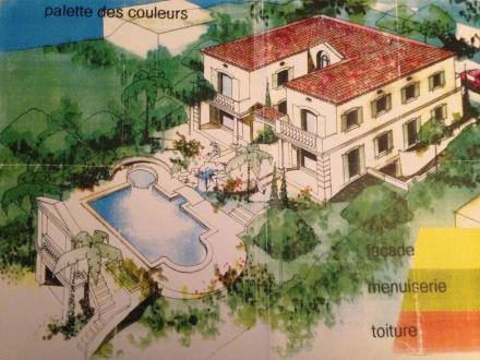 Вилла класса люкс на продажу  Рокбрюн-Кап-Мартен, 600 м², 7 Спальни, 1485000€