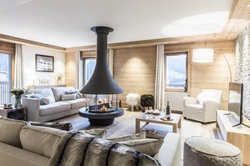 Luxe Appartement te huur COURCHEVEL, 138 m², 3 Slaapkamers,