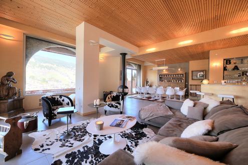 Luxus-Wohnung zu vermieten MEGEVE, 1 m², 4 Schlafzimmer,