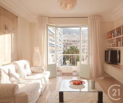 Квартира класса люкс в аренду Ницца, 75 м², 2 Спальни, 1790€/месяц