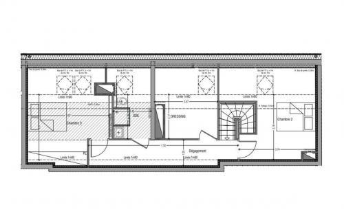 Appartement neuf de luxe à vendre GRENOBLE, 142 m², 4 Chambres, 685000€