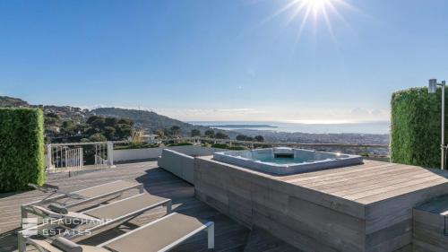 Luxus-Wohnung zu vermieten LE CANNET, 140 m², 4 Schlafzimmer,