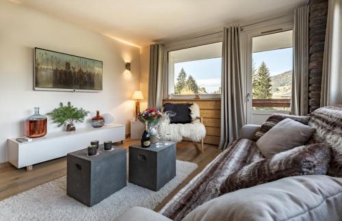 Appartement de luxe à louer MEGEVE, 60 m², 2 Chambres,