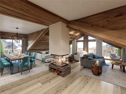 Luxus-Wohnung zu verkaufen MERIBEL LES ALLUES, 217 m², 4 Schlafzimmer, 3900000€