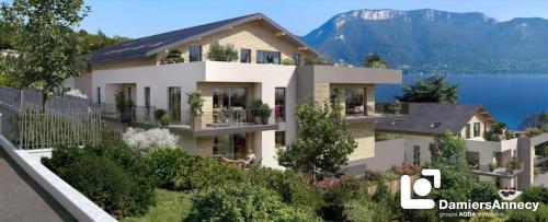 Luxus-Wohnung zu verkaufen SEVRIER, 78 m², 2 Schlafzimmer, 535000€