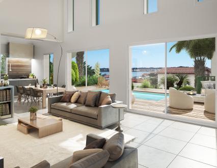 Вилла класса люкс на продажу  Уррюнь, 93 м², 3 Спальни, 750000€