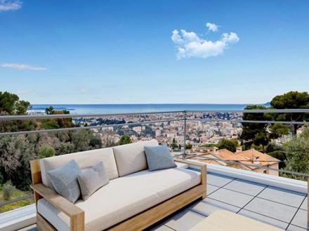 Appartement de luxe à vendre LE CANNET, 99 m², 3 Chambres, 1090000€