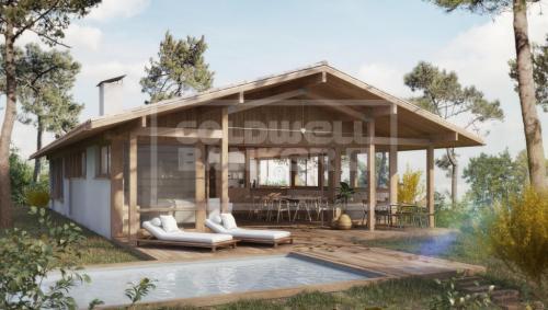 Участок класса люкс на продажу  Пила Сюр Мер, 1100 м², 980000€