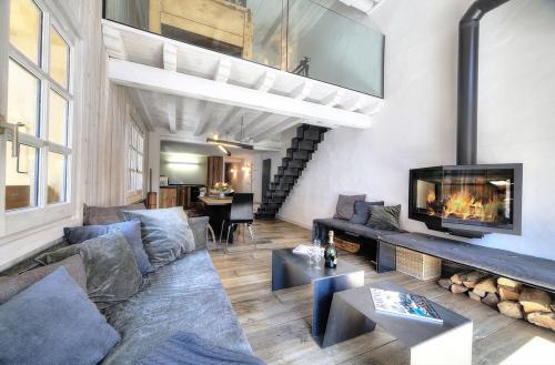 Квартира класса люкс в аренду Межев, 75 м², 2 Спальни,