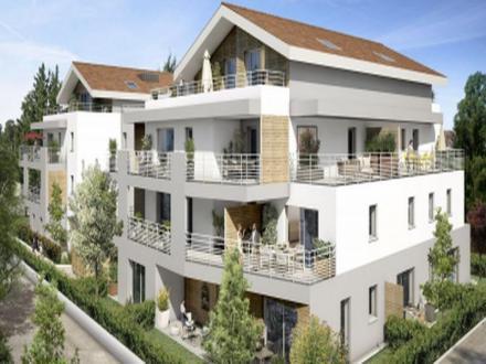 Luxus-Wohnung zu verkaufen PREVESSIN MOENS, 89 m², 3 Schlafzimmer, 514000€