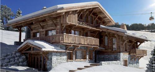 Luxus-Chalet zu verkaufen MEGEVE, 528 m², 5 Schlafzimmer, 6400000€