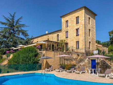 Château / Manoir de luxe à vendre SAINTE RADEGONDE, 1100 m², 16 Chambres, 1575000€