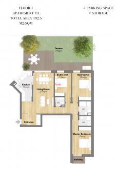 Appartement de luxe à vendre Portugal, 121 m², 3 Chambres, 920000€