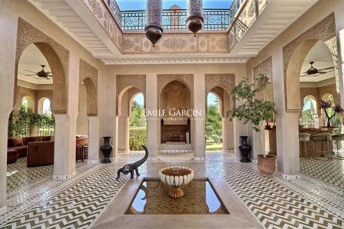 Propriété de luxe à vendre MARRAKECH, 1500 m², 12 Chambres, 3300000€