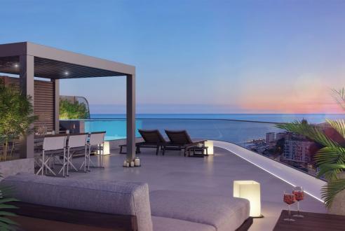 Luxus-Wohnung zu verkaufen BEAUSOLEIL, 148 m², 2 Schlafzimmer, 2290000€