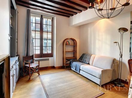 Luxus-Wohnung zu vermieten PARIS 4E, 26 m², 1250€/monat