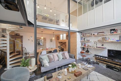 Maison de luxe à vendre PARIS 18E, 126 m², 4 Chambres, 1450000€