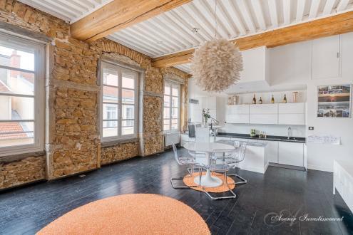 Appartement de luxe à vendre LYON, 130 m², 3 Chambres, 690000€
