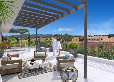 Appartement de luxe à vendre COGOLIN, 95 m², 3 Chambres, 504000€