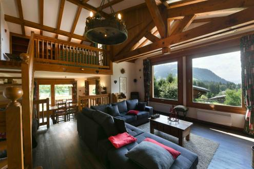 Luxury Chalet for rent MEGEVE, 200 m², 3 Bedrooms,