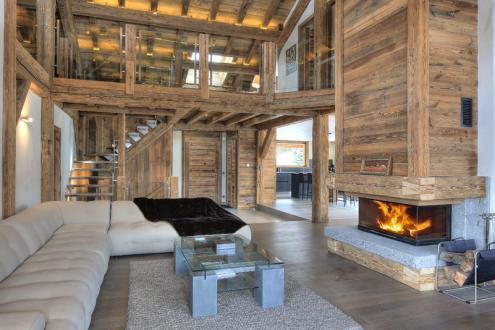 Luxus-Chalet zu vermieten MEGEVE, 1 m², 6 Schlafzimmer,