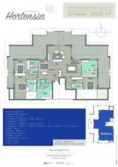 Appartement neuf de luxe à vendre HOSSEGOR, 209 m², 4 Chambres, 1950000€