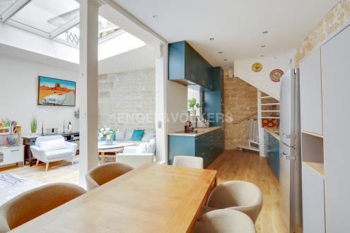 Лофт класса люкс на продажу  Париж 6ой, 81 м², 1 Спальни, 1263000€