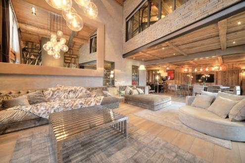 Шале класса люкс в аренду Межев, 540 м², 7 Спальни,