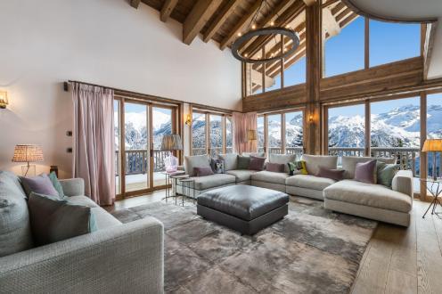 Chalet de luxe à louer COURCHEVEL, 467 m², 5 Chambres,