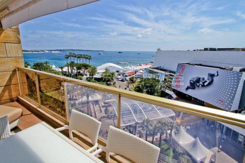 Luxus-Wohnung zu verkaufen CANNES, 55 m², 2 Schlafzimmer, 1395000€